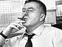 Жириновский публично пообещал бросить курить - 20061118204318445_1