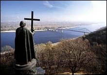 В Киеве проходит молебн по случаю окончания 2006 года - 2006122314061741_1