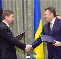 Янукович пообещал Эстонии реформы на пути в ЕС - 20070116200603836_1