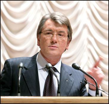 Ющенко рассказал о шантаже и провокациях! - 2007030120354169_1