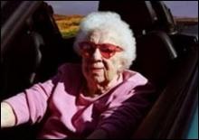 Разъяренная старушка атаковала транспортный департамент США - 20070303192122421_1