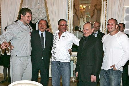 Как Путин с Ван Даммом зажигал... - 20070416151304691_1