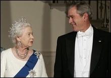 Произнося речь, Буш чуть не состарил Елизавету II на 150 лет - 20070509194951737_1