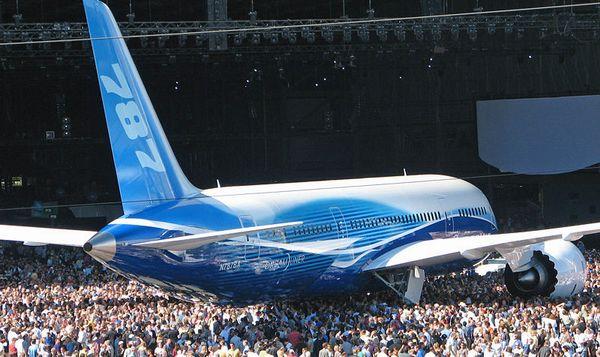 Презентация Боинг-787 Dreamliner, Эверетт, штат Вашингтон. - 20070709101446525_1
