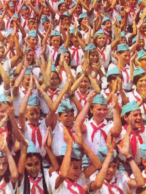 Не так уж и давно..: Пионеры СССР (20 фото) - 20070927232809523_19