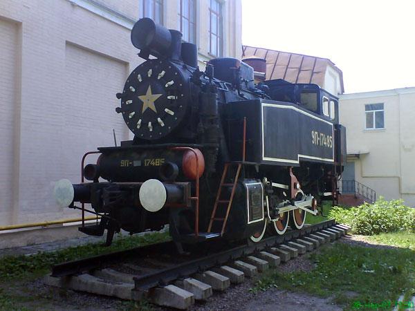 В КПИ покажут локомотив
