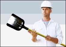 Рабочие избили прохожего, наступившего на свежий асфальт - 20071023215419152_1