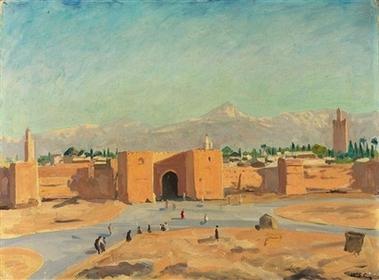 Картина кисти Уинстона Черчилля на аукционе Sotheby's - 20071102104508447_1