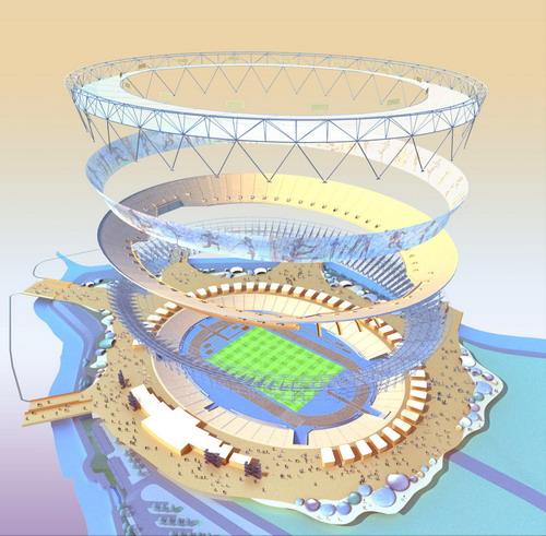 Проект Олимпийского стадиона в Лондоне - 20071108194723335_2