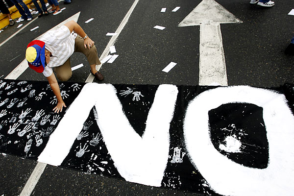 Марш несогласных в Венесуэле - 20071202194854103_3