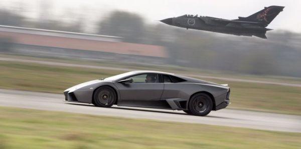 Lamborghini Reventon против боевого истребителя Tornado - 20071204194734562_1