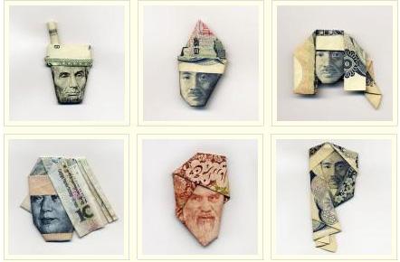 Оригами из денег  - 20071206195454799_1