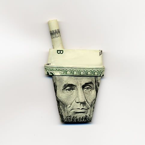 Оригами из денег  - 20071206195454799_2