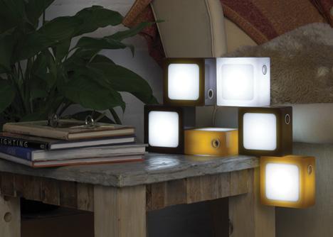 Лампа-конструктор Twist Together Lamp  - 20071210161512400_1