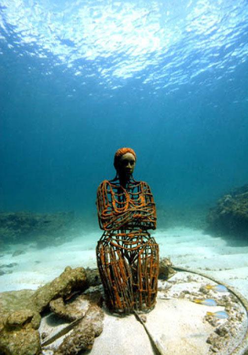 «Молиньере» – единственный в мире парк подводных скульптур - 20071216152217411_8