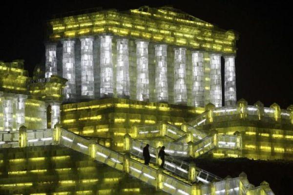 Фестиваль снежных и ледяных фигур в Харбине - 20071224195506355_6