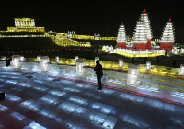 Фестиваль снежных и ледяных фигур в Харбине - 20071224195506355_7
