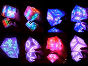 Британец скрестил игру Pacman с кубиком Рубика - 20071225191212802_1
