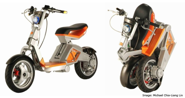Робоскутер — электрический скутер-трансформер - 20080110175439628_1