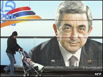 В Армении проводятся президентские выборы  - 20080219133932109_1