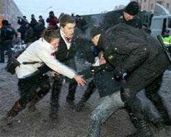 В Белоруссии задержаны около ста участников акций оппозиции - 20080326101424139_1