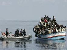 В Средиземном море затонуло судно с нелегалами: спаслись двое из 150 пассажиров - 20080617000336855_1
