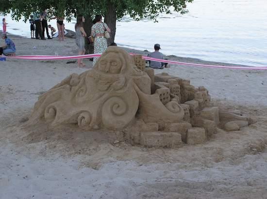 Фестиваль песчаной скульптуры 2004 год, Оболонь (фото из архива) - Festival-peschanoj-skulptury-2004-Obolon_16