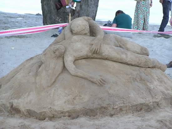 Фестиваль песчаной скульптуры 2004 год, Оболонь (фото из архива) - Festival-peschanoj-skulptury-2004-Obolon_19