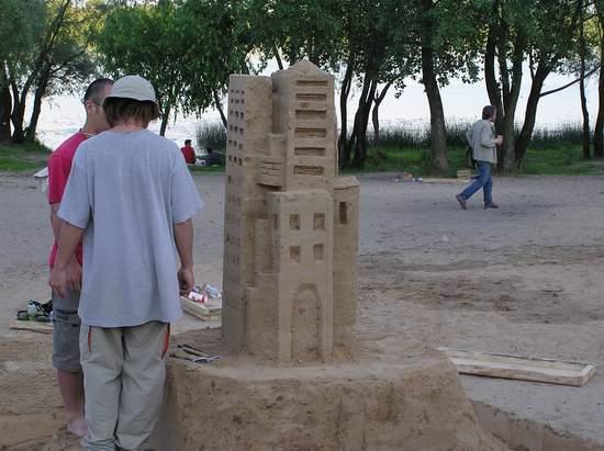 Фестиваль песчаной скульптуры 2004 год, Оболонь (фото из архива) - Festival-peschanoj-skulptury-2004-Obolon_26