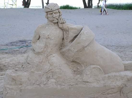 Фестиваль песчаной скульптуры 2004 год, Оболонь (фото из архива) - Festival-peschanoj-skulptury-2004-Obolon_31
