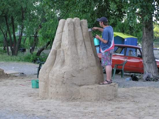 Фестиваль песчаной скульптуры 2004 год, Оболонь (фото из архива) - Festival-peschanoj-skulptury-2004-Obolon_33