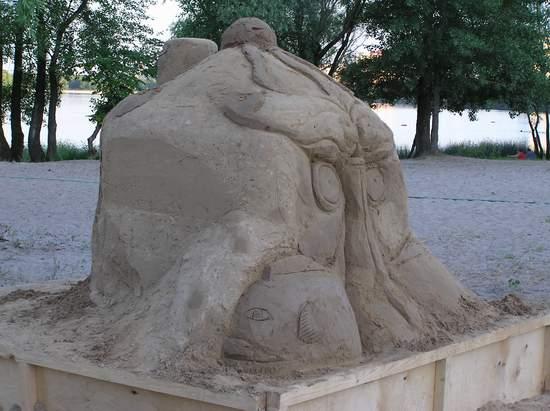 Фестиваль песчаной скульптуры 2004 год, Оболонь (фото из архива) - Festival-peschanoj-skulptury-2004-Obolon_35
