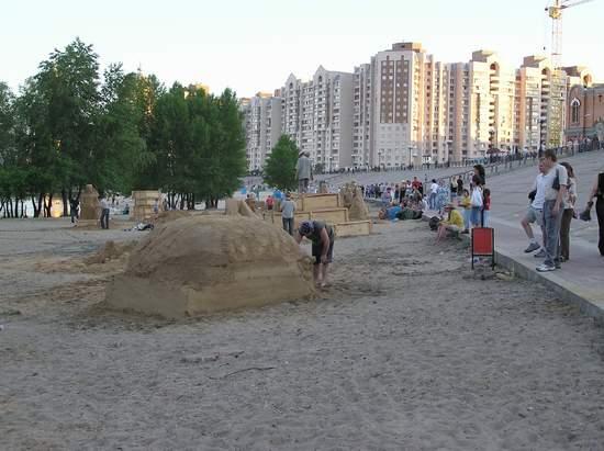 Фестиваль песчаной скульптуры 2004 год, Оболонь (фото из архива) - Festival-peschanoj-skulptury-2004-Obolon_41