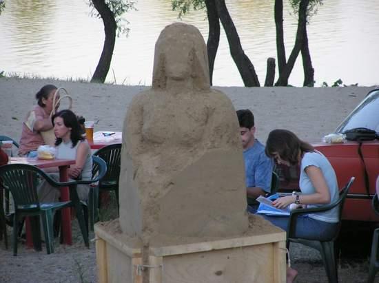 Фестиваль песчаной скульптуры 2004 год, Оболонь (фото из архива) - Festival-peschanoj-skulptury-2004-Obolon_43