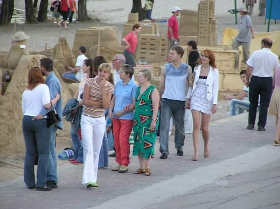 Фестиваль песчаной скульптуры 2004 год, Оболонь (фото из архива, часть 2) - Festival-peschanoj-skulptury-2004Obolon2_1