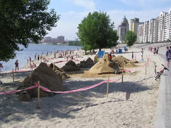 Фестиваль песчаной скульптуры 2004 год, Оболонь (фото из архива, часть 2) - Festival-peschanoj-skulptury-2004Obolon2_15