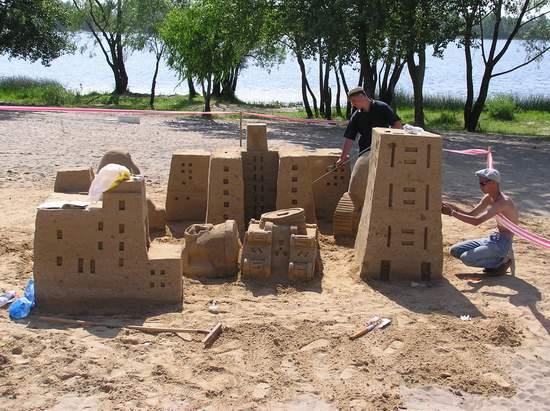 Фестиваль песчаной скульптуры 2004 год, Оболонь (фото из архива, часть 2) - Festival-peschanoj-skulptury-2004Obolon2_19