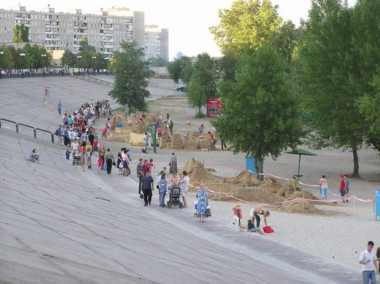 Фестиваль песчаной скульптуры 2004 год, Оболонь (фото из архива, часть 2) - Festival-peschanoj-skulptury-2004Obolon2_2
