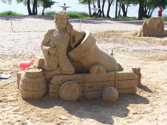 Фестиваль песчаной скульптуры 2004 год, Оболонь (фото из архива, часть 2) - Festival-peschanoj-skulptury-2004Obolon2_25