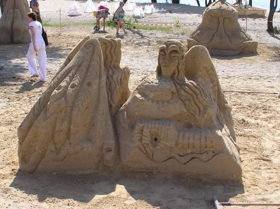 Фестиваль песчаной скульптуры 2004 год, Оболонь (фото из архива, часть 2) - Festival-peschanoj-skulptury-2004Obolon2_26