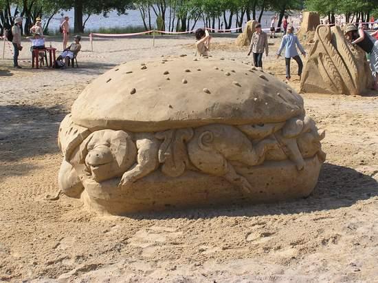 Фестиваль песчаной скульптуры 2004 год, Оболонь (фото из архива, часть 2) - Festival-peschanoj-skulptury-2004Obolon2_28