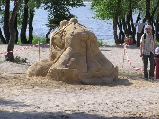 Фестиваль песчаной скульптуры 2004 год, Оболонь (фото из архива, часть 2) - Festival-peschanoj-skulptury-2004Obolon2_29