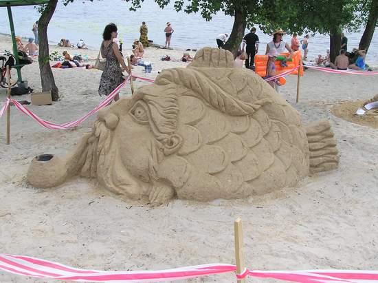 Фестиваль песчаной скульптуры 2004 год, Оболонь (фото из архива, часть 2) - Festival-peschanoj-skulptury-2004Obolon2_35