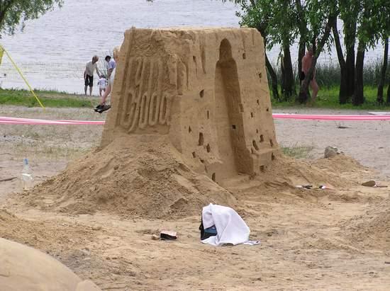 Фестиваль песчаной скульптуры 2004 год, Оболонь (фото из архива, часть 2) - Festival-peschanoj-skulptury-2004Obolon2_37