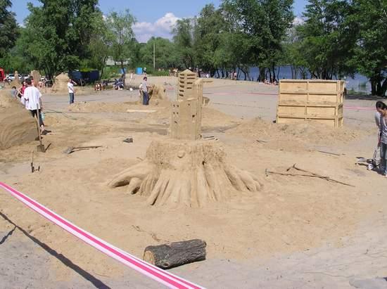 Фестиваль песчаной скульптуры 2004 год, Оболонь (фото из архива, часть 2) - Festival-peschanoj-skulptury-2004Obolon2_4