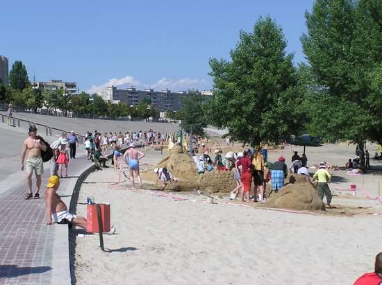 Фестиваль песчаной скульптуры 2004 год, Оболонь (фото из архива, часть 2) - Festival-peschanoj-skulptury-2004Obolon2_9