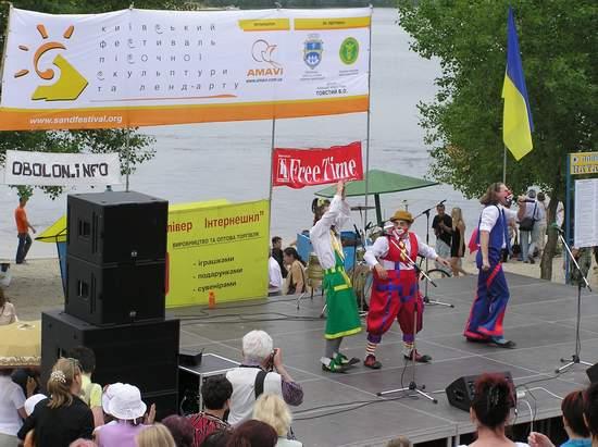 Фестиваль песчаной скульптуры 2004 год, Оболонь (фото из архива, часть 3) - Festival-peschanoj-skulptury-2004Obolon3_16