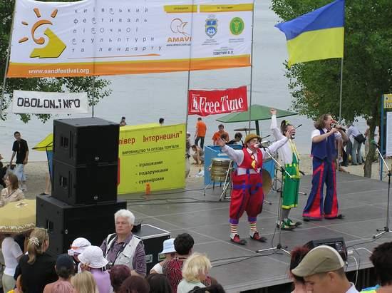 Фестиваль песчаной скульптуры 2004 год, Оболонь (фото из архива, часть 3) - Festival-peschanoj-skulptury-2004Obolon3_17