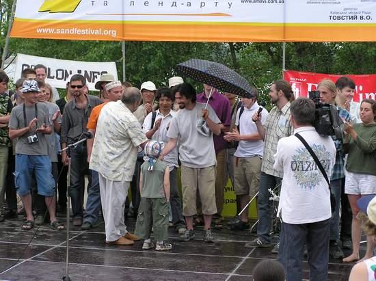 Фестиваль песчаной скульптуры 2004 год, Оболонь (фото из архива, часть 3) - Festival-peschanoj-skulptury-2004Obolon3_22