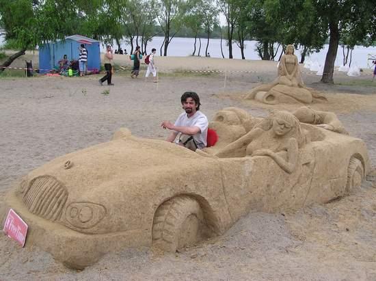 Фестиваль песчаной скульптуры 2004 год, Оболонь (фото из архива, часть 3) - Festival-peschanoj-skulptury-2004Obolon3_24